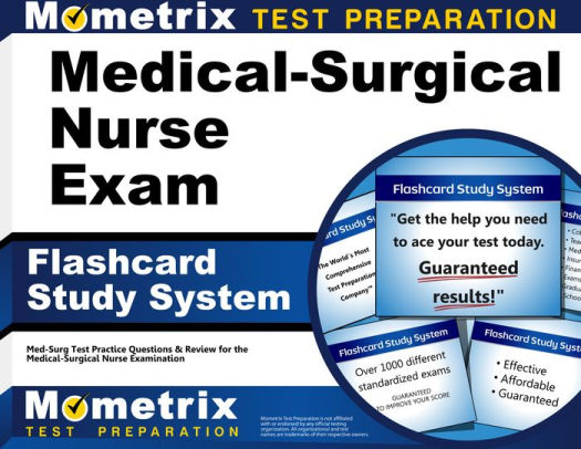 Medical-Surgical Nurse Exam Flashcard Study System Med-Surg Test