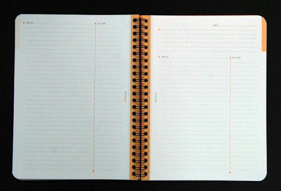 Rhodia Meeting Paper Books 80 g Paper - Lined 80 sheets - 6 1/2 x 8