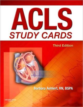 ACLS Study Cards / Edition 3 by Barbara J Aehlert 9780323058100