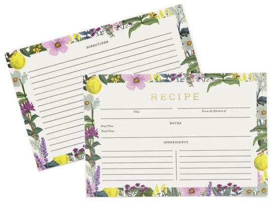 Herb Garden Recipe Cards 9780594788218 Item Barnes  Noble®
