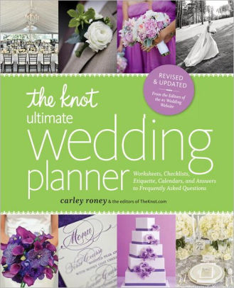 The Knot Ultimate Wedding Planner Revised Edition Worksheets