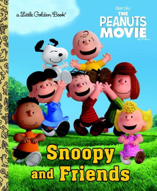 Little Peanut Girl Wallpaper Snoopy And Friends The Peanuts Movie By Golden Books