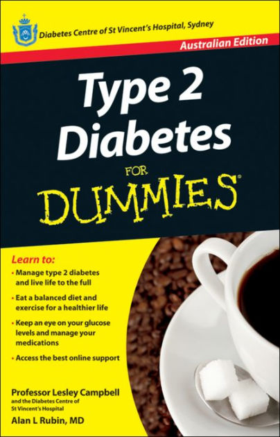 Type 2 Diabetes For Dummies by Lesley Campbell, Alan L Rubin