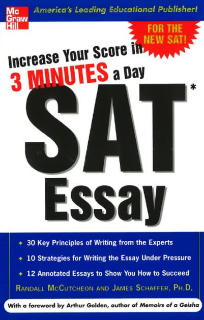 Increase Your Score in 3 Minutes a Day SAT Essay by Randall