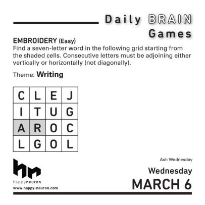 word a day calendars