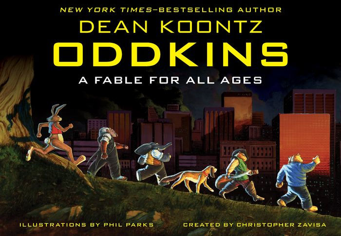 Dean Koontz Libros Oddkins: A Fable For All Ages By Dean Koontz, Phil Parks