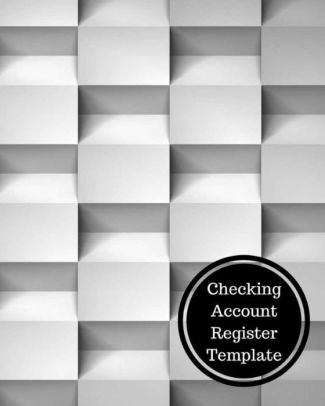 Checking Account Register Template by Insignia Accounts, Paperback