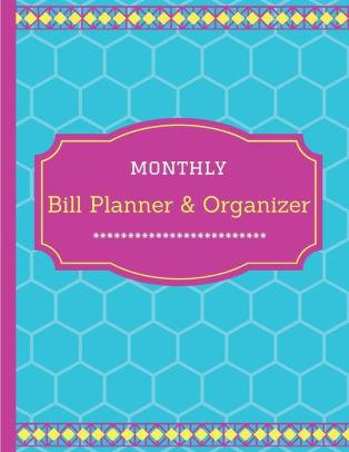Monthly Bill Planner  Organizer Financial Planner, Financial