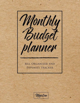 My Home Budget Planner Monthy Bill Organizer  Expense Tracker Book