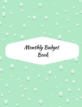 Monthly Budget Book Planner, Budget Organizer, Detailed Expense