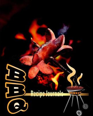 BBQ Recipe Journals 110 Page 8x10\ - recipe journals