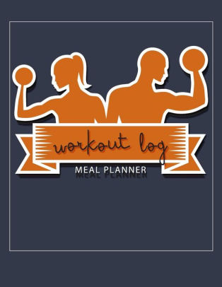 Workout Log Meal Planner BookDiet And Exercise JournalWomen and