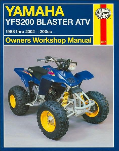 yamaha blaster manuals