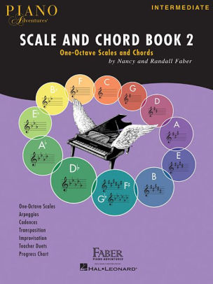 Piano Adventures Scale and Chord Book 2 One-Octave Scales and