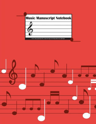 Music Manuscript Notebook 85\