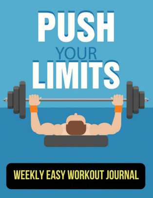 Weekly Easy Workout Journal fitness tracker book With Calendar 2018
