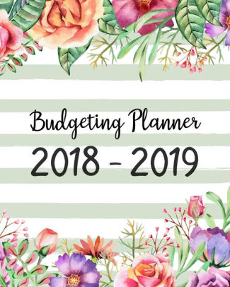 Budgeting Planner 2018 - 2019 Daily Weekly  Monthly 2018 - 2019