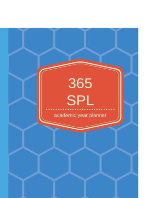 365 SPL Academic Year Planner Daily Planner for College by College