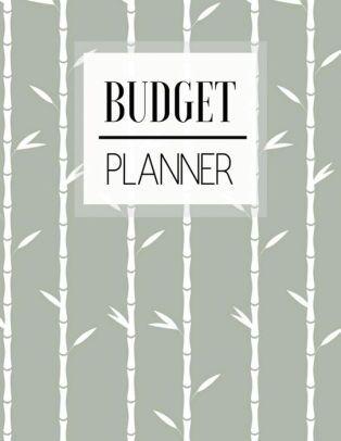 Budget Planner Japanese Bamboo Design Personal Money Management