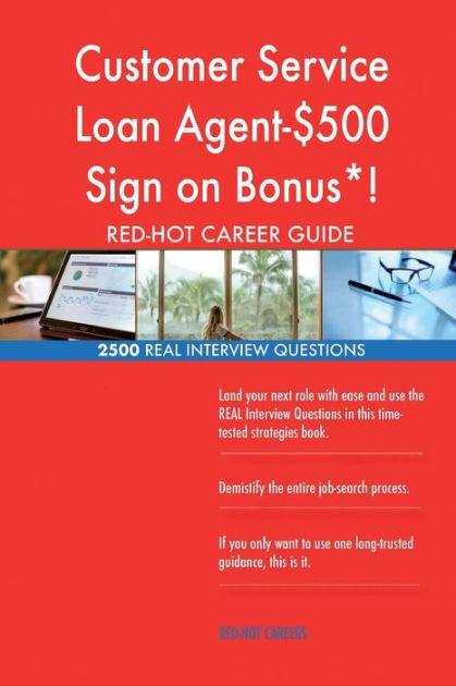 Customer Service Loan Agent-$500 Sign on Bonus*! RED-HOT Career