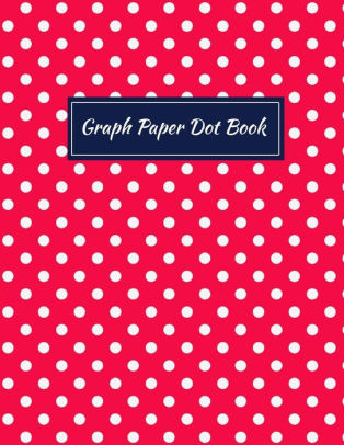 Graph Paper Dot Book Dot Paper Blank Graphing, Writing Paper