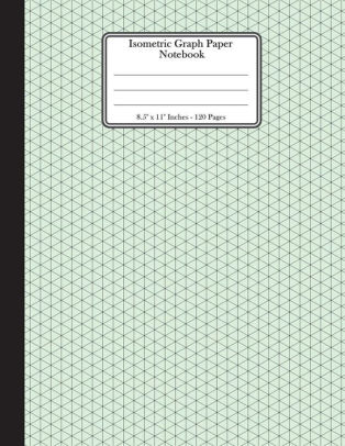Isometric Graph Paper Notebook 85\