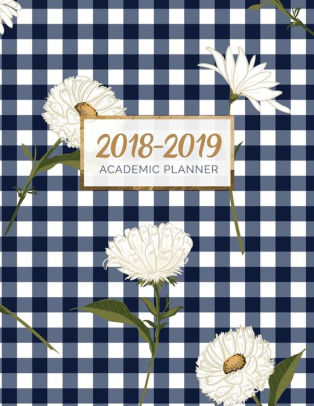 2018-2019 Academic Planner Weekly and Monthly Student Planner by