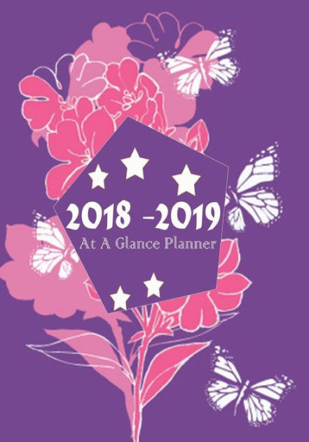 2018-2019 At A Glance Planner Ultimate Daily Weekly, Monthly