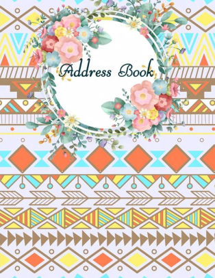Address Book Pretty Ethnic, Email Address Book And Contact Book