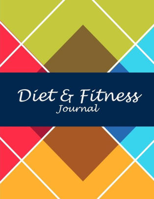 Diet  Fitness Journal Beauty Art Books, 2019 Weekly Meal And