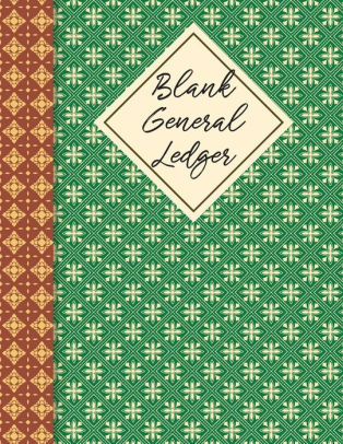 Blank General Ledger Small Business,Accounting Business Money