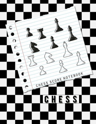 Chess Score Notebook Chess Game Record Keeper Book, Chess