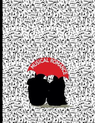 Musical Romance Sheet music for composers / musicians Music Staffs