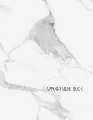 Appointment Book 5 Column Undated Appointment Planner For Hair