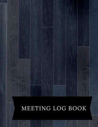 Meeting Logbook Meeting Minutes Notebook Secretary Logbook Journal