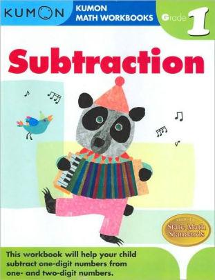 Kumon Math Workbooks Subtraction, Grade 1Paperback