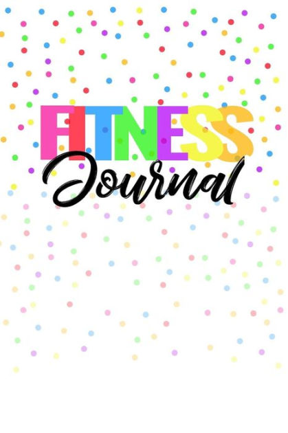 Fitness Journal For Women, Unguided Workout Journal And Diet