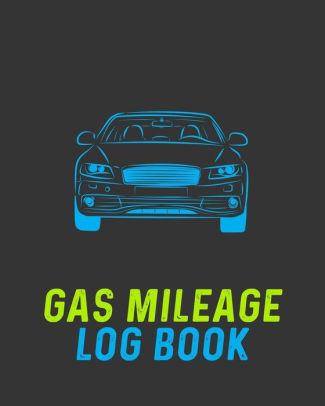 Gas Mileage Log Book Vehicle Mileage  Gas Expense Tracker Log Book