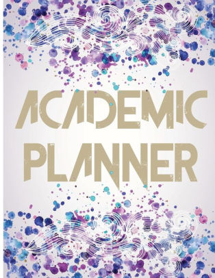 Academic Planner 2017 - 2018 Student Planner  Daily Organizer