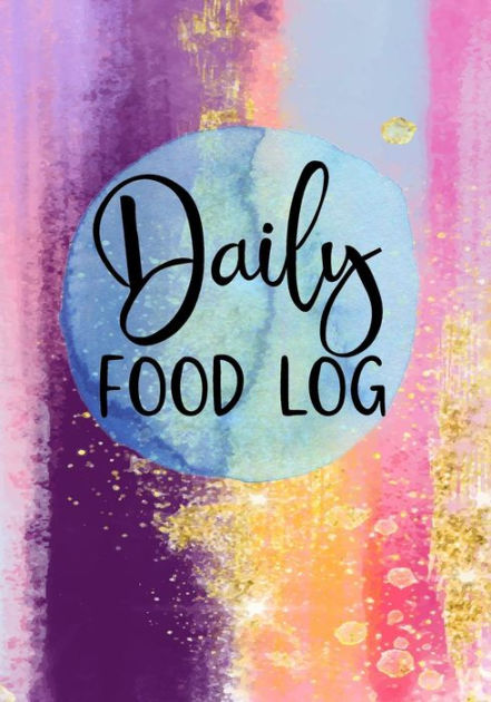 Daily Food Log Diet  Fitness Tracker by Dartan Creations