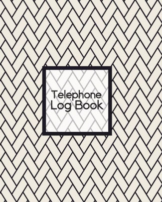 Telephone Log Book Telephone Message Tracker - Voice Mail Memos by