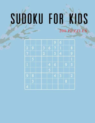 Sudoku For Kids Game Puzzles and Activity Book For Kids, 6x6, 9x9