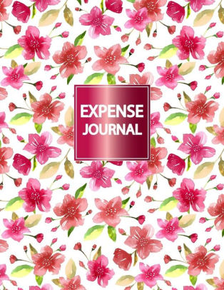 Expense Journal Personal Expense Tracker, Notebook Journal Budget