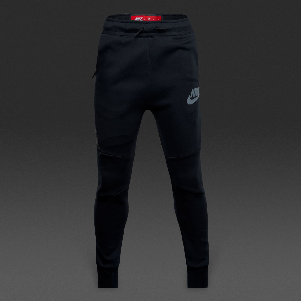 Nike Fleece Kinder Nike Sportswear Boys Tech Fleece Pant Black