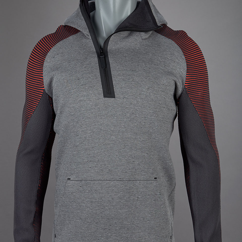Nike Hoodie Carbon Heather Nike Sportswear Tech Fleece Hoodie Carbon Heather