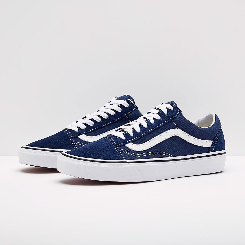Nike Blau Mens Shoes - Vans Old Skool - Estate Blue - Va38g1q9w