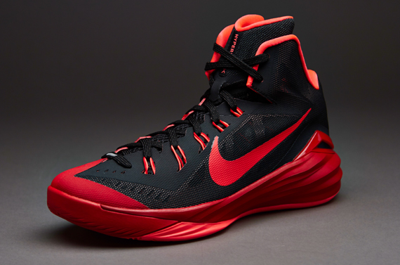 Sports Trainers Nike Shoes - Nike Hyperdunk 2014 - Black/hyper Punch