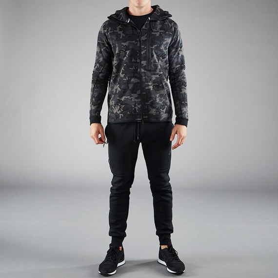 Nike Tech Fleece Internationalist Nike Sportswear Tech Fleece Camo Hoody Mens Clothing