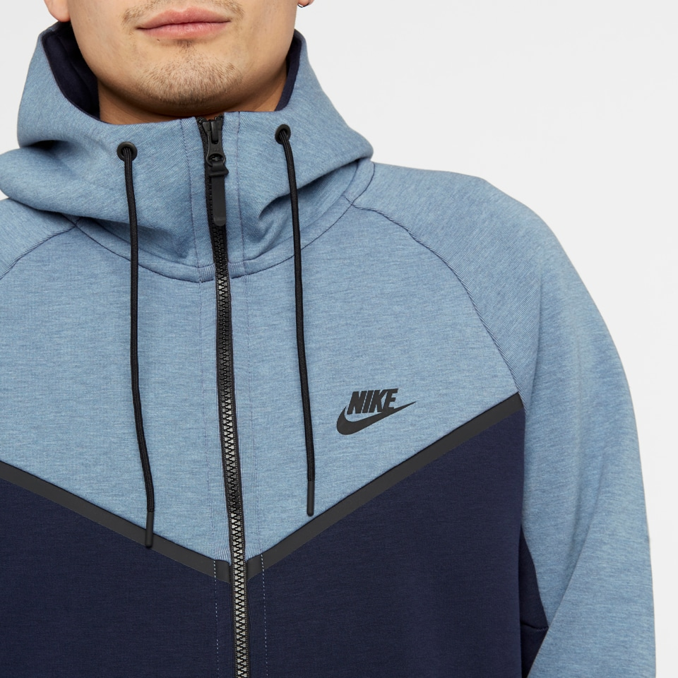 Nike Fleece Kinder Nike Sportswear Tech Fleece Windrunner Hoodie Fz Aegean Storm
