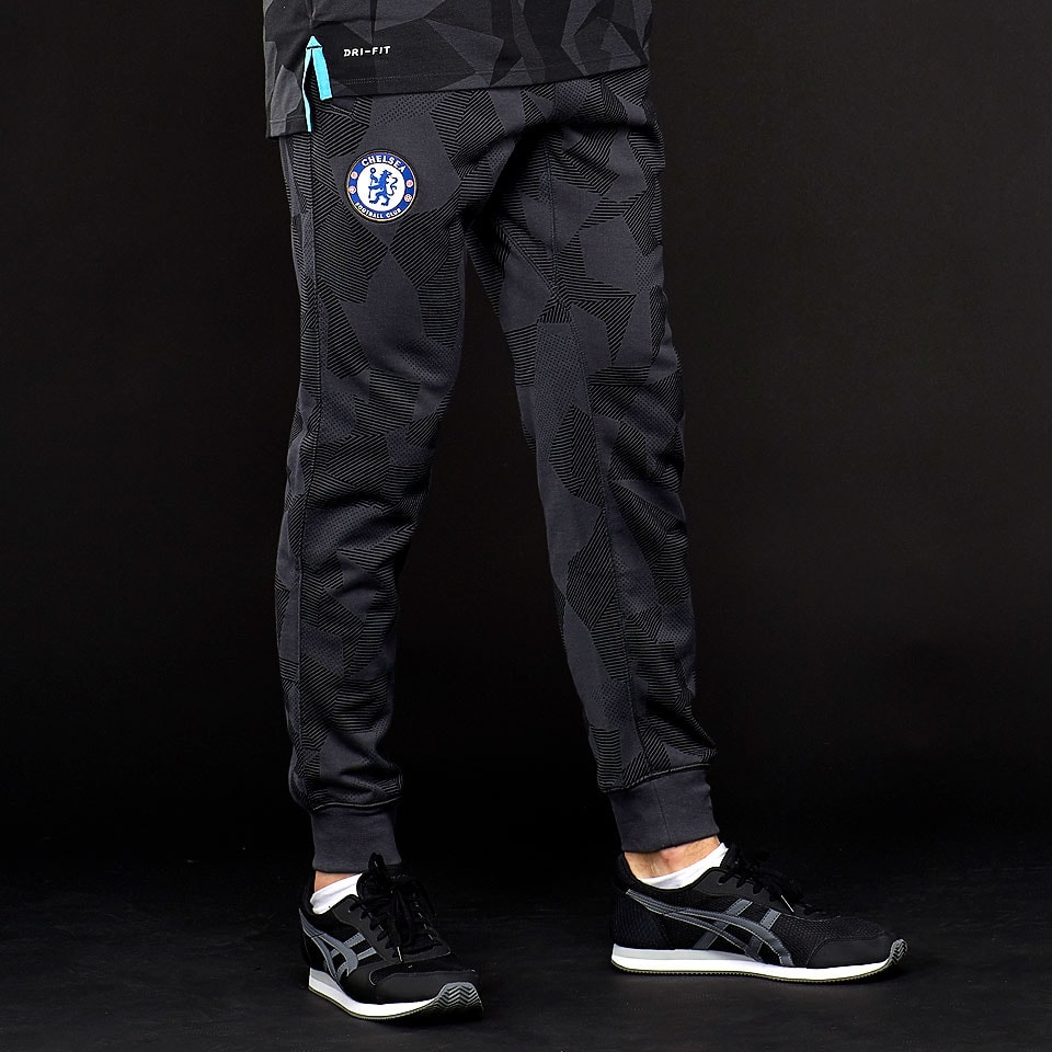 Anthrazit Schwarz Nike Chelsea 17 18 Nsw Authentic Hose Anthrazit Schwarz Omega Blau